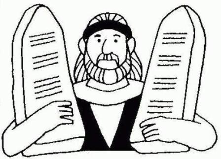 Moisés y sus tablas